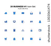 top 20 simple set of business...
