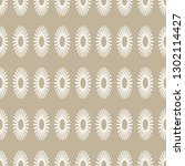 seamless pattern with ovals.... | Shutterstock . vector #1302114427