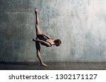 ballerina female. young...   Shutterstock . vector #1302171127