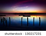 beautiful landscape of a river... | Shutterstock . vector #130217231
