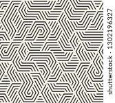 vector seamless irregular... | Shutterstock .eps vector #1302196327