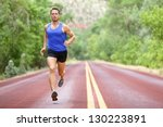 running athlete man. male... | Shutterstock . vector #130223891