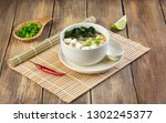 Japanese Miso Soup With Wakame  ...