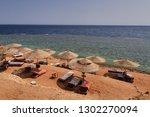 sharm el sheik beach            ... | Shutterstock . vector #1302270094
