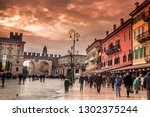 i took this photo in verona on... | Shutterstock . vector #1302375244