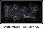 vector background of the car... | Shutterstock .eps vector #1302395737