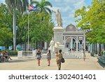 cienfuegos  cuba   february 24  ... | Shutterstock . vector #1302401401