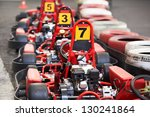 machine kart before the start | Shutterstock . vector #130241864