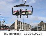 borovets  bulgaria   january 31 ... | Shutterstock . vector #1302419224