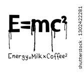 coffee concept   vector... | Shutterstock .eps vector #1302422281
