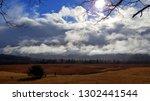 dramatic late autumn cloudscape | Shutterstock . vector #1302441544