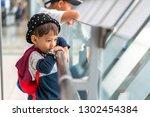 asian little boy 3 years old... | Shutterstock . vector #1302454384