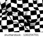 checkered plane | Shutterstock . vector #130254701