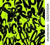 abstract seamless grunge... | Shutterstock .eps vector #1302555034