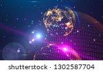 background design abstract... | Shutterstock . vector #1302587704
