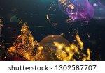 background design abstract... | Shutterstock . vector #1302587707