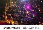 background design abstract... | Shutterstock . vector #1302604411