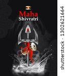 illustration of maha shivratri  ...   Shutterstock .eps vector #1302621664
