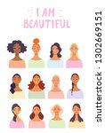 charming young girls for womens ...   Shutterstock .eps vector #1302669151