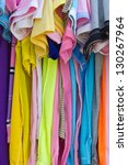 t shirts with different colors... | Shutterstock . vector #130267964