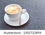 affogato coffee with ice cream...   Shutterstock . vector #1302722854