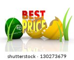 colourful 3d graphic symbol... | Shutterstock . vector #130273679