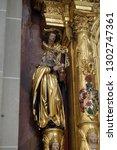 lucerne  switzerland   june 24  ...   Shutterstock . vector #1302747361