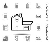 house outline icon. simple...