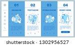 sicknesses onboarding mobile... | Shutterstock .eps vector #1302956527