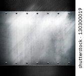 metal plate | Shutterstock . vector #130300019