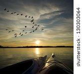 Kayaks On Lake Ontario At...