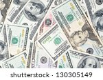 dollar banknotes  business...