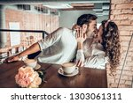 love concept. beautiful... | Shutterstock . vector #1303061311