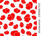 love seamless pattern with red... | Shutterstock .eps vector #1303067191