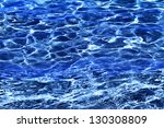 hotel swimming pool with sunny... | Shutterstock . vector #130308809