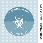bio hazard icon for web.... | Shutterstock .eps vector #1303151191
