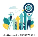 vector illustration of a... | Shutterstock .eps vector #1303171591