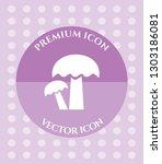 mushroom icon for web ... | Shutterstock .eps vector #1303186081