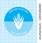 corn icon for web  applications ... | Shutterstock .eps vector #1303186084