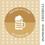 wine glass icon for web ... | Shutterstock .eps vector #1303186111
