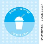 coffee cup icon for web ... | Shutterstock .eps vector #1303186114