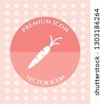 carrot icon for web ... | Shutterstock .eps vector #1303186264