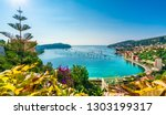aerial view of french riviera... | Shutterstock . vector #1303199317