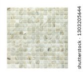 square background wall mosaic...   Shutterstock . vector #1303205644