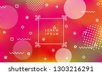 abstract holographic background ... | Shutterstock .eps vector #1303216291
