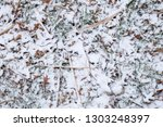 abstract snow covered ground... | Shutterstock . vector #1303248397