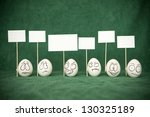 the life of eggs. | Shutterstock . vector #130325189