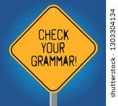 handwriting text check your... | Shutterstock . vector #1303304134