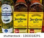 jose guervo especial tequila... | Shutterstock . vector #1303318291
