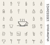 cup of coffee dusk icon. drinks ... | Shutterstock .eps vector #1303326421